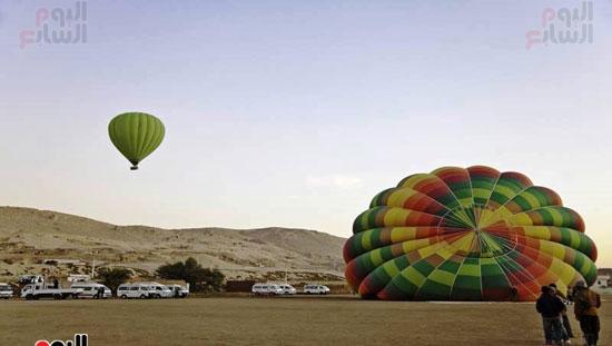 مفاجأة-سعيدة-بالأقصر-البالون-الطائر-يقترب-من-العودة-للتحليق-من-جديد-(7)