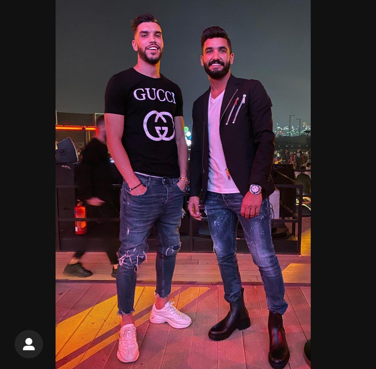 أزارو مع صالح جمعة