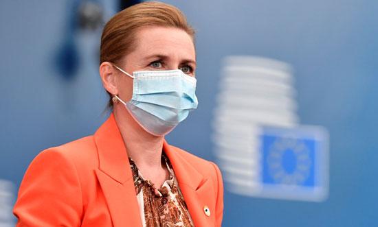 رئيسة وزراء الدنمارك