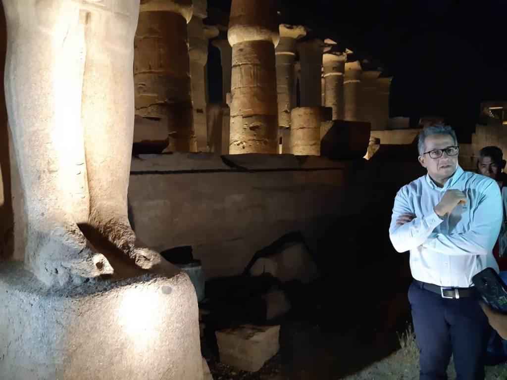 مدير معبد الأقصر فى حوار خاص لـاليوم السابع  (14)