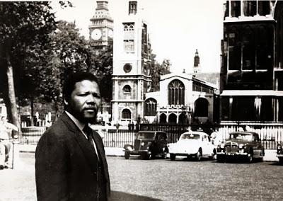مانديلا اثناء الدراسة
