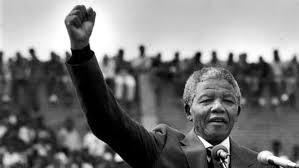 نيلسون مانديلا .