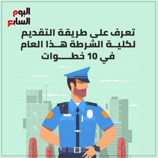 إنفو طريقة التقديم لكلية الشرطة (1)