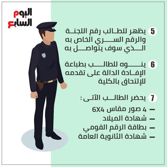 إنفو طريقة التقديم لكلية الشرطة (3)
