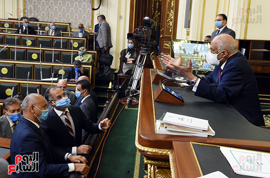 الجلسة العامة بمجلس النواب (19)