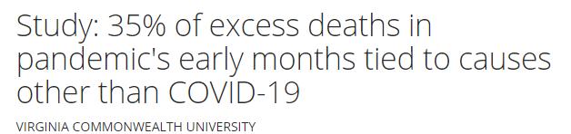 اسباب اخروى غير كورونا للوفاة اول الوباء