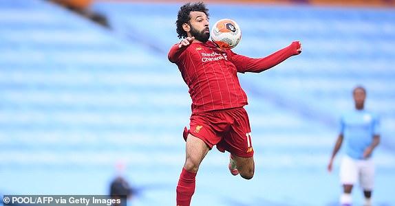 محمد صلاح في هجمة لصالح ليفربول