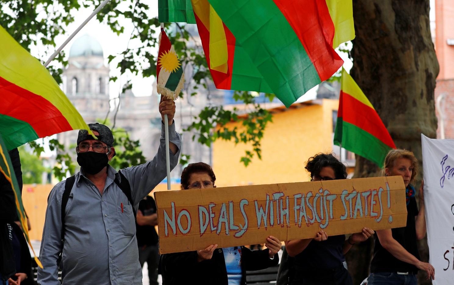 جانب من المظاهرة