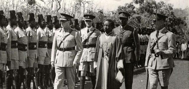 الاحتلال الانجليزي أوغندا