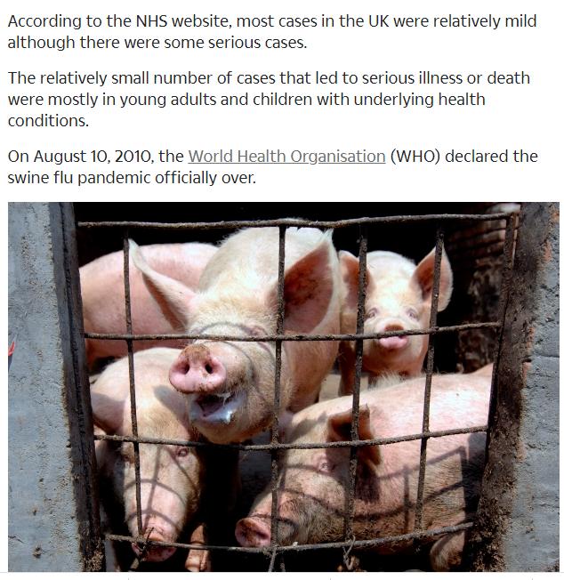 س وج كل ما تريد ان تعرفه عن السلالة الجديدة لانفلونزا الخنازير