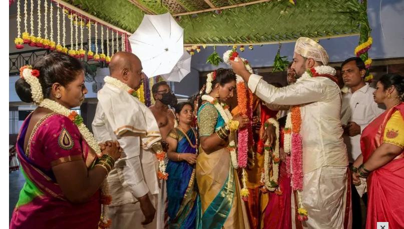 حفل زفاف بالهند ت