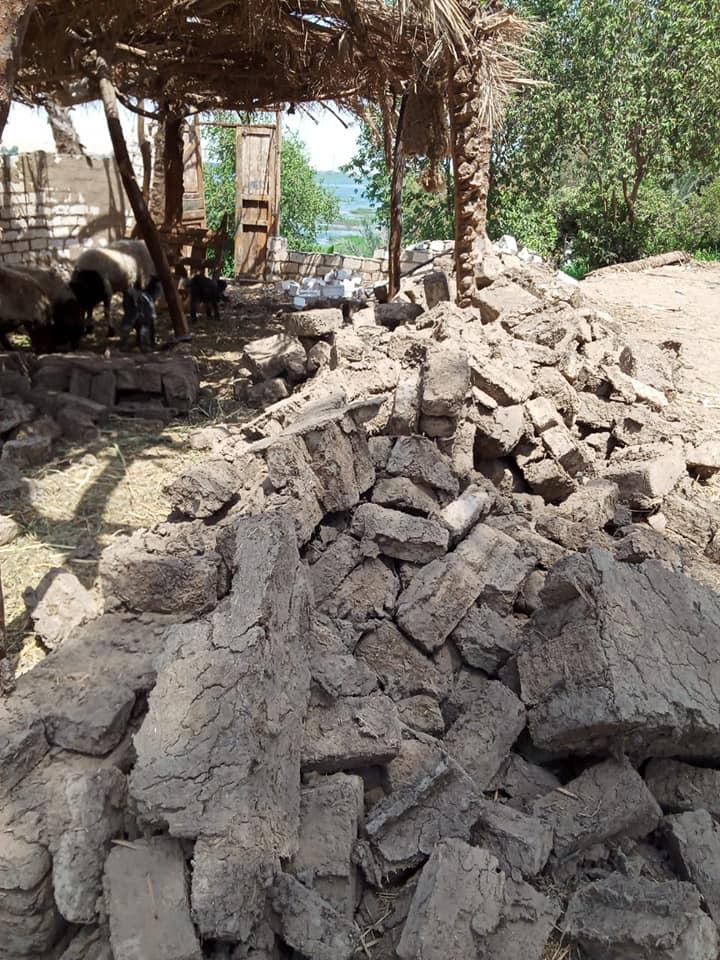 إزالة 31 حالة تعد تشمل مبانى وأسوار على حرم نهر النيل فى الأقصر (4)