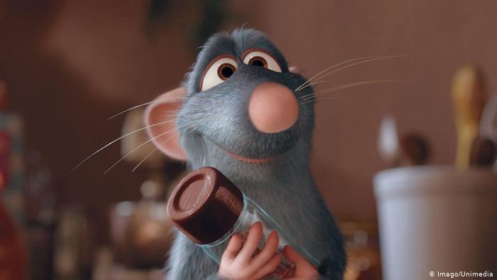 الفأر الطباخ