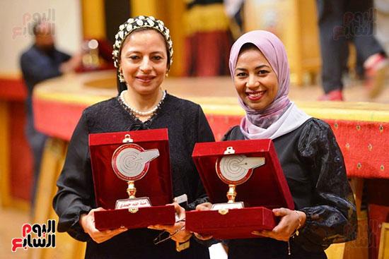 اليوم السابع تتسلم جوائز الصحافة المصرية  (6)
