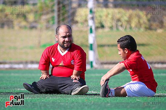 استراحة بين التدريب