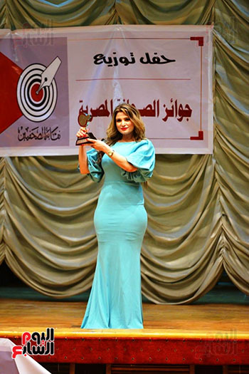 اليوم السابع تتسلم جوائز الصحافة المصرية  (7)