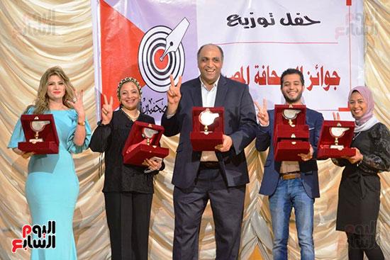 اليوم السابع تتسلم جوائز الصحافة المصرية  (4)