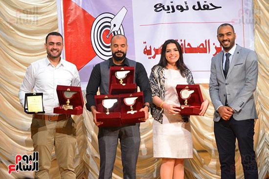 اليوم السابع تتسلم جوائز الصحافة المصرية  (8)