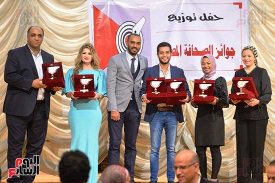 اليوم السابع تتسلم جوائز الصحافة المصرية  (12)