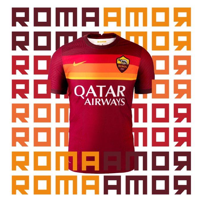 القميص الجديد لفريق روما