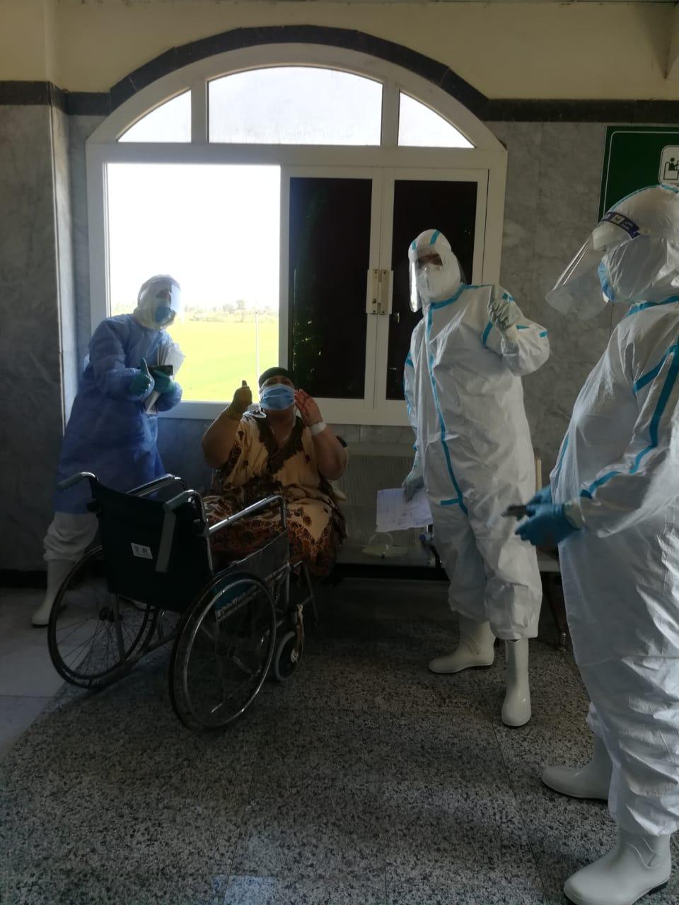 مستشفى الحجر الصحي بتمى الأمديد (1)