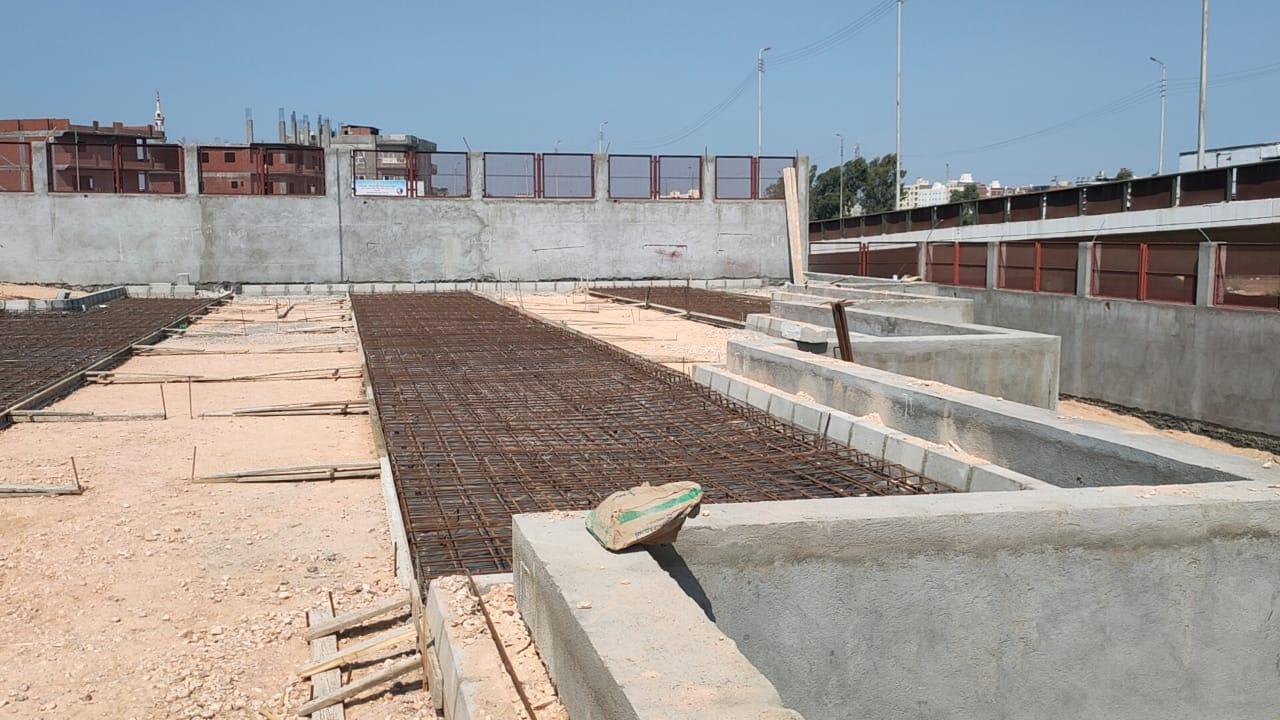 محطة وسيطة للقمامة في دمنهور (8)