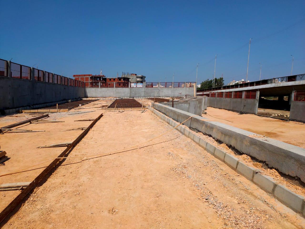 محطة وسيطة للقمامة في دمنهور (2)