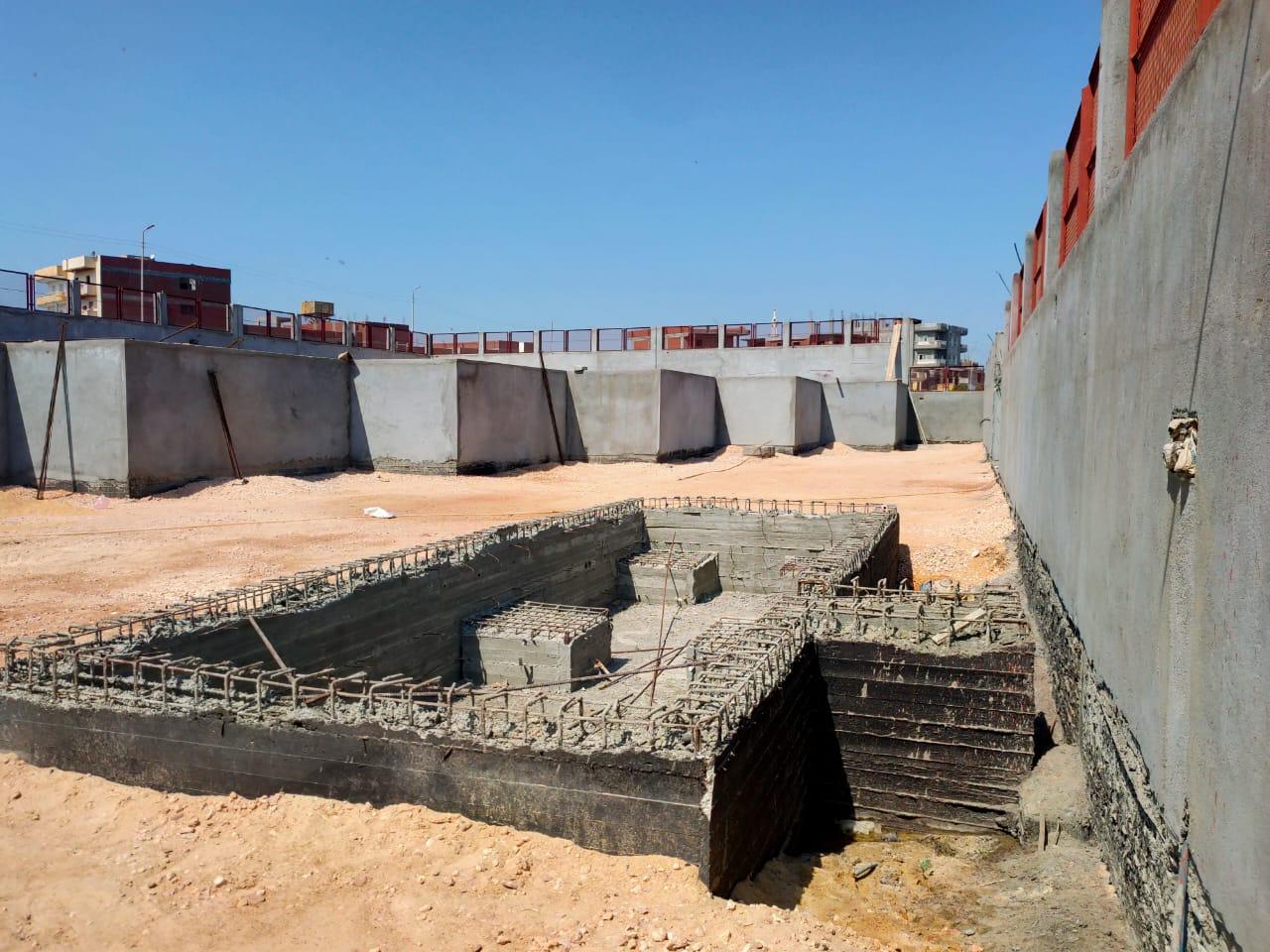 محطة وسيطة للقمامة في دمنهور (3)