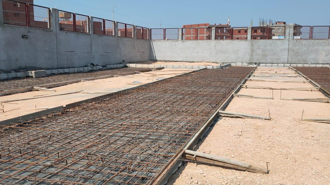 محطة وسيطة للقمامة في دمنهور (7)