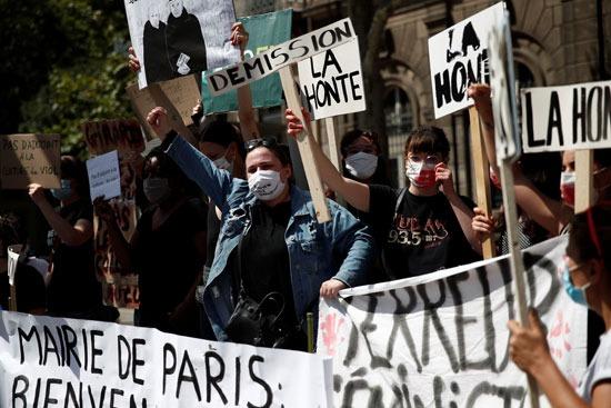 مظاهرات ضد وزير الداخلية الفرنسى