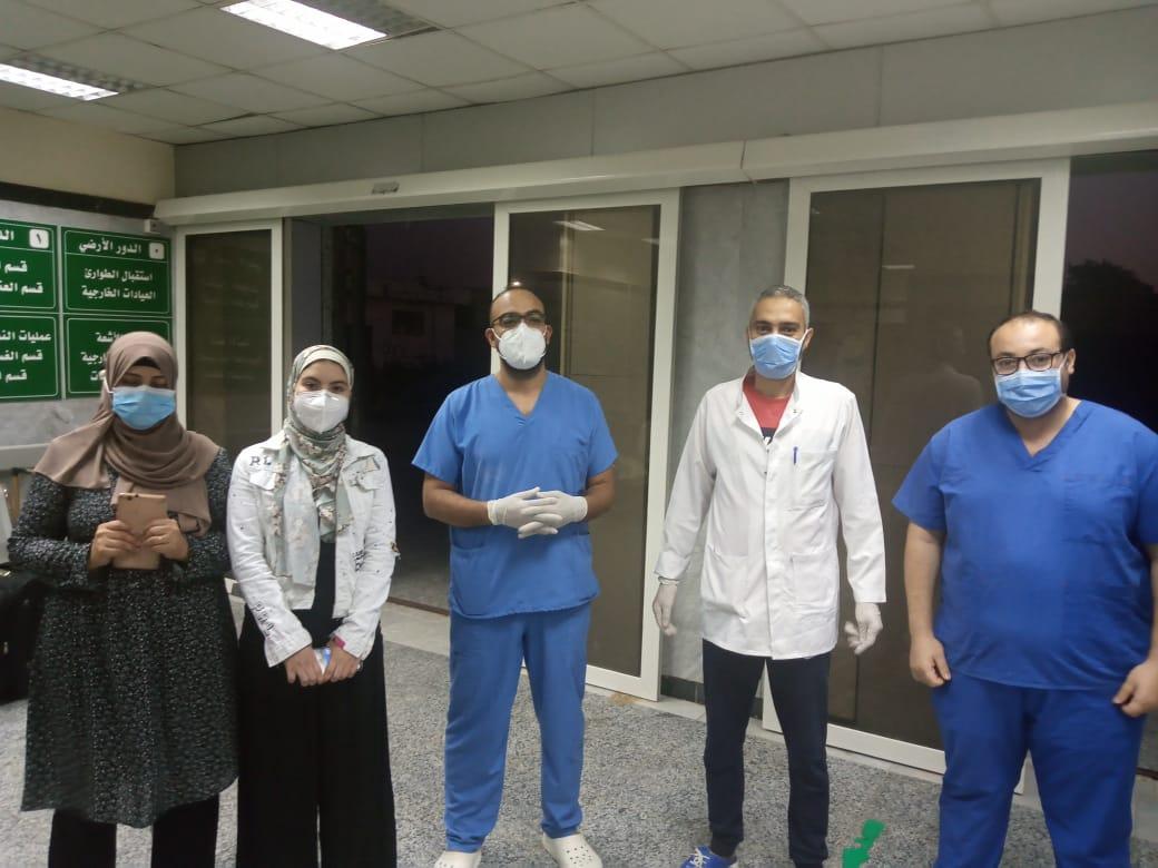 مستشفى الحجر الصحي بتمى الأمديد (2)