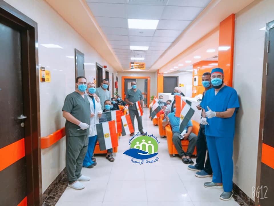 إرتفاع حالات الشفاء بمستشفى إسنا للحجر الصحى لـ1053 تعاف من كورونا (3)