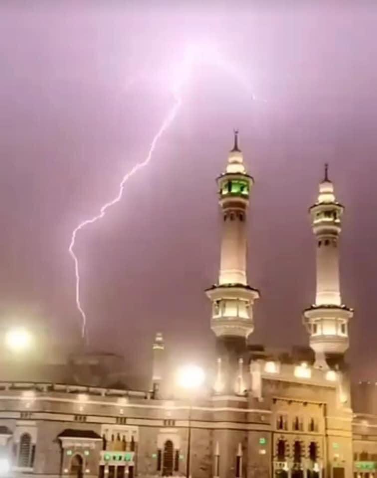 رعد وبرق في السعودية (2)