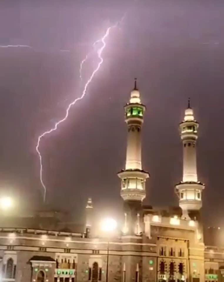 رعد وبرق في السعودية (1)