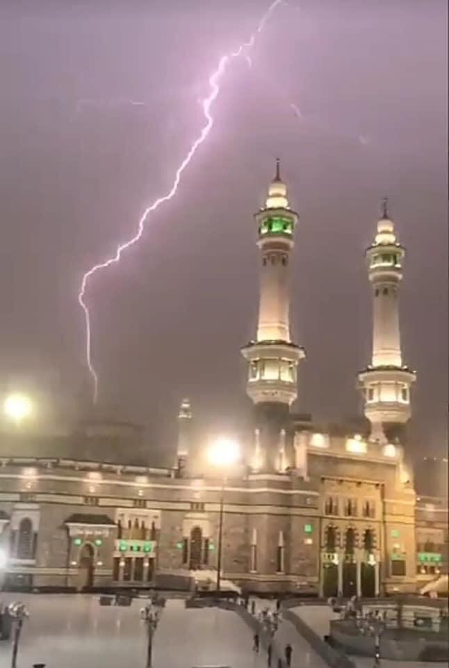 رعد وبرق في السعودية (3)