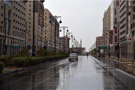 أمطار على المدينة المنورة (1)