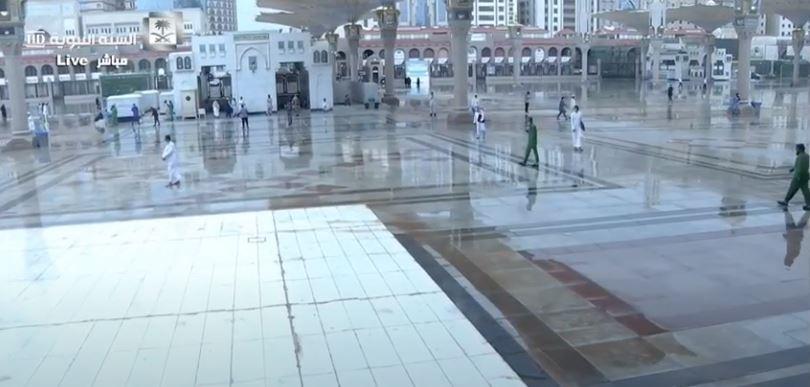 أمطار على المدينة المنورة (5)