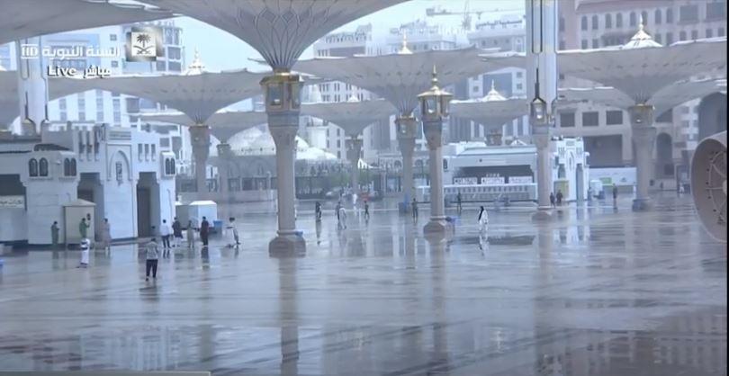 أمطار على المدينة المنورة (3)