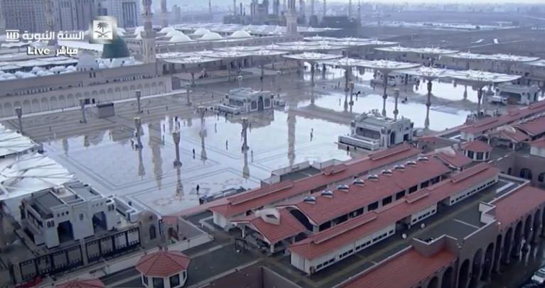 أمطار على المدينة المنورة (4)