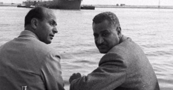 المهندس محمود يونس والرئيس جمال عبد الناصر