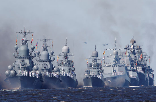 الأسطول الروسي البحري
