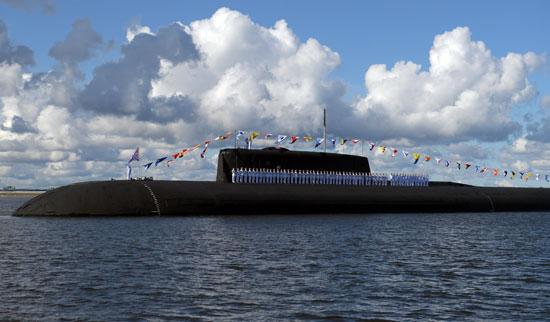 صورة للقوات البحرية أعلى الأسطول الروسي