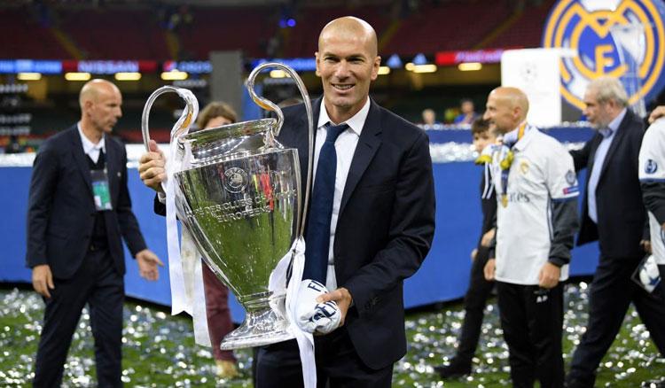 زيدان يحمل لقب دوري أبطال أوروبا