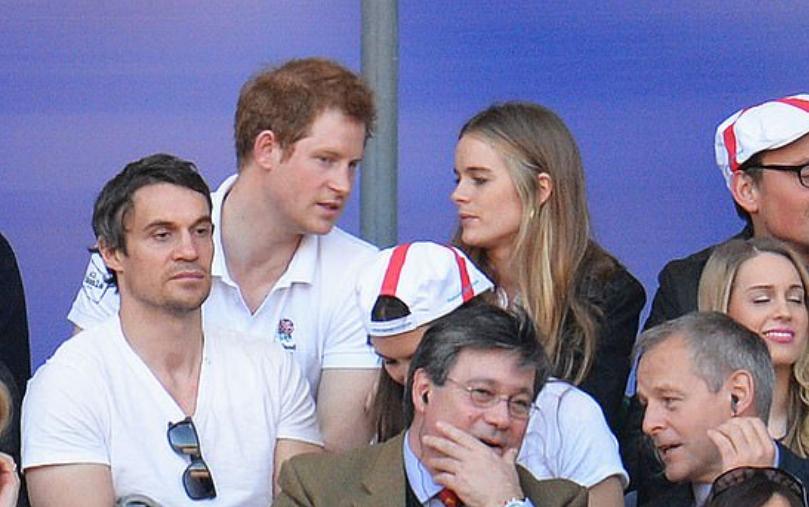 الأمير هارى وكريسيدا بوناس