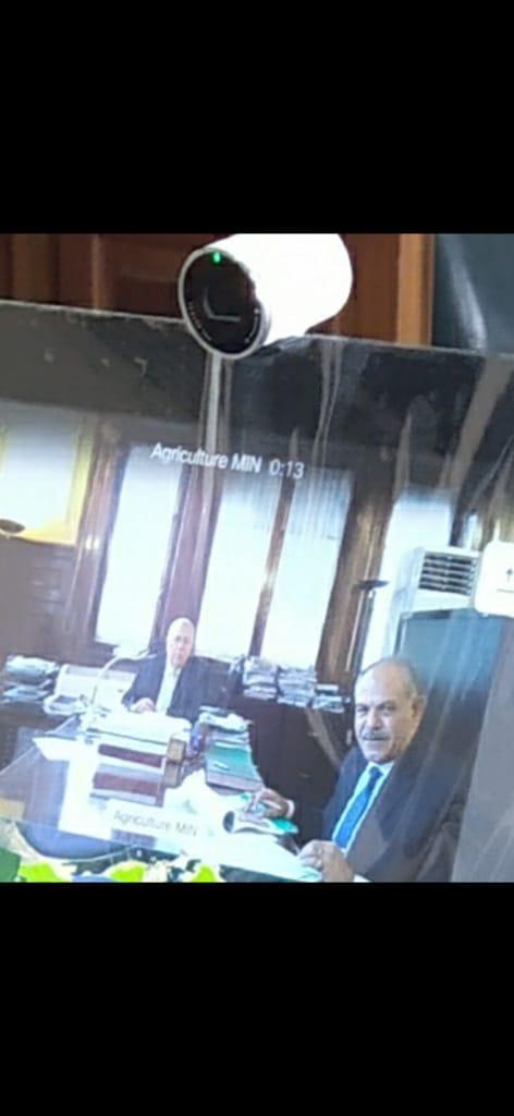 اجتماع وزيرا الرى والزراعة   (8)