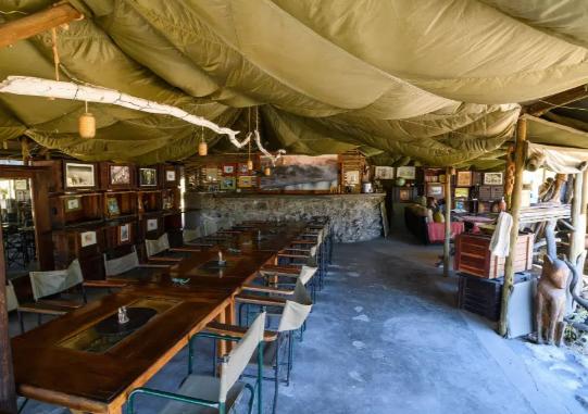 مخيم فى بوتسوانا