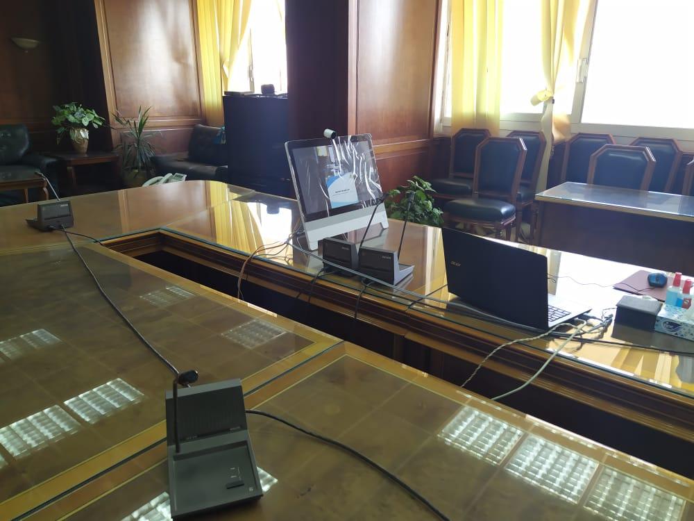 اجتماع وزيرا الرى والزراعة   (2)