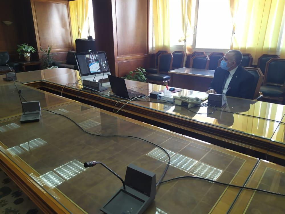 اجتماع وزيرا الرى والزراعة   (1)