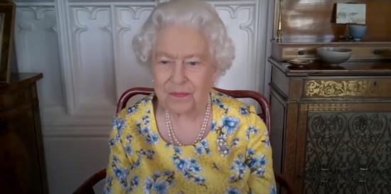 الملكة خلال محادثتها الأخيرة