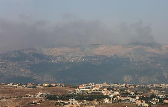 الشريط الحدودى بين اسرائيل و لبنان